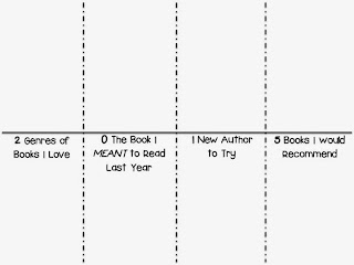 2015 Reading Goals Printable 2