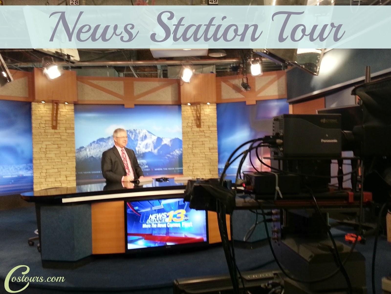 Tour a News Station