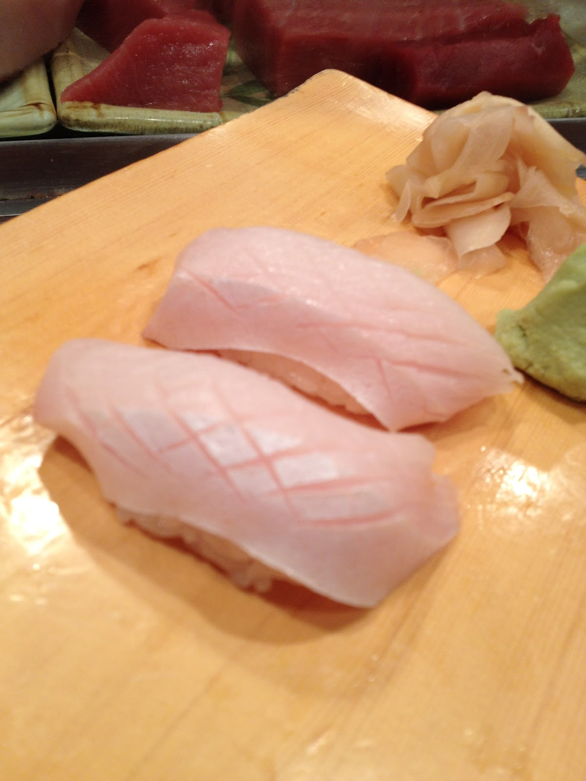 Yellowtail Belly Sushi The gallery for...