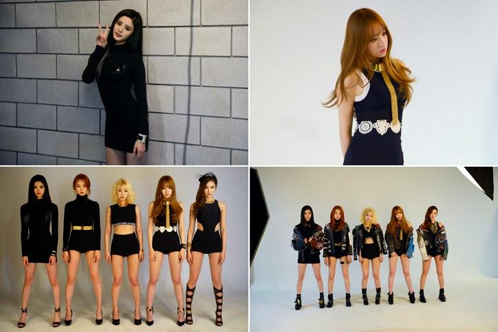 Enjoy Korea EXID Ah Yeah MV EXID Ah Yeah teaser EXID Ah Yeah Music video EXID Ah Yeah photo exid un&down Girls Generation Hani Hui hyelin Junghwa K pop K-pop Solji LE EXID Ah Yeah lyrics