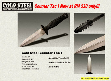 100% Genuine Cold Steel Counter Tac I Knife at Promotion