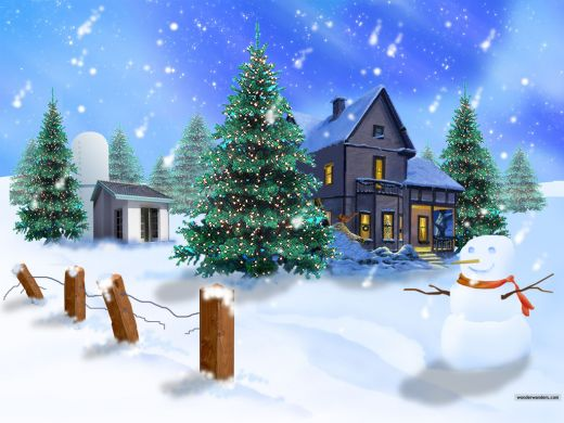 Free Christmas Screen Savers Desktop Themes and Wallpapers No