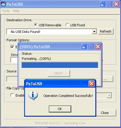 how to make bootable pendrive to dvd