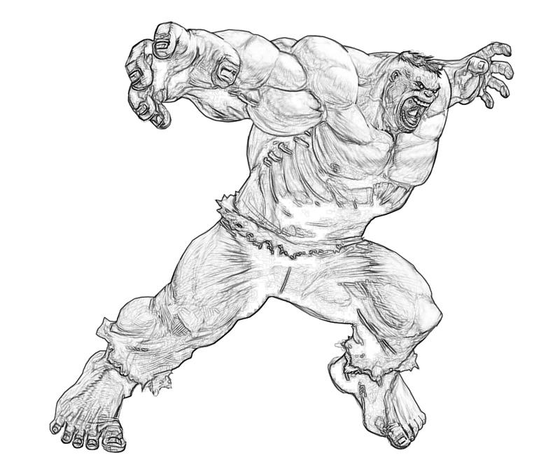 spider hulk coloring pages - photo#10