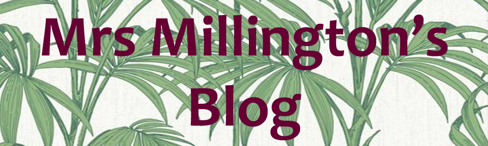 Mrs Millington's Blog
