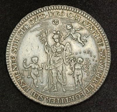 Silver Half Thaler Coin