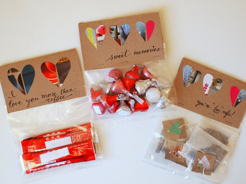 Diy Valentine S Day Gifts Candy Coffee And Tea Pink