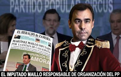 Fernando Fernandez Maillo, imputado por la estafa de Caja España