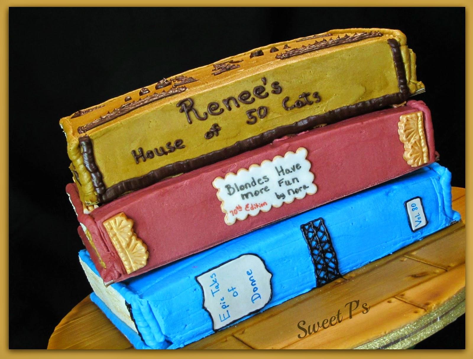 MS book cake