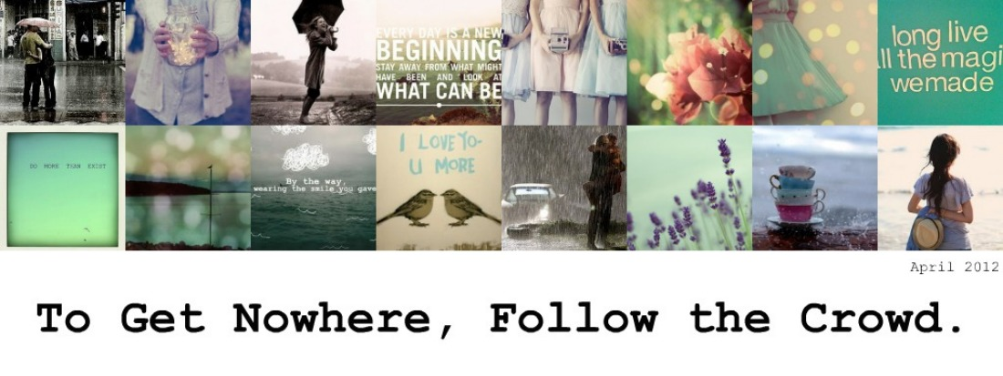 To Get Nowhere, Follow the Crowd
