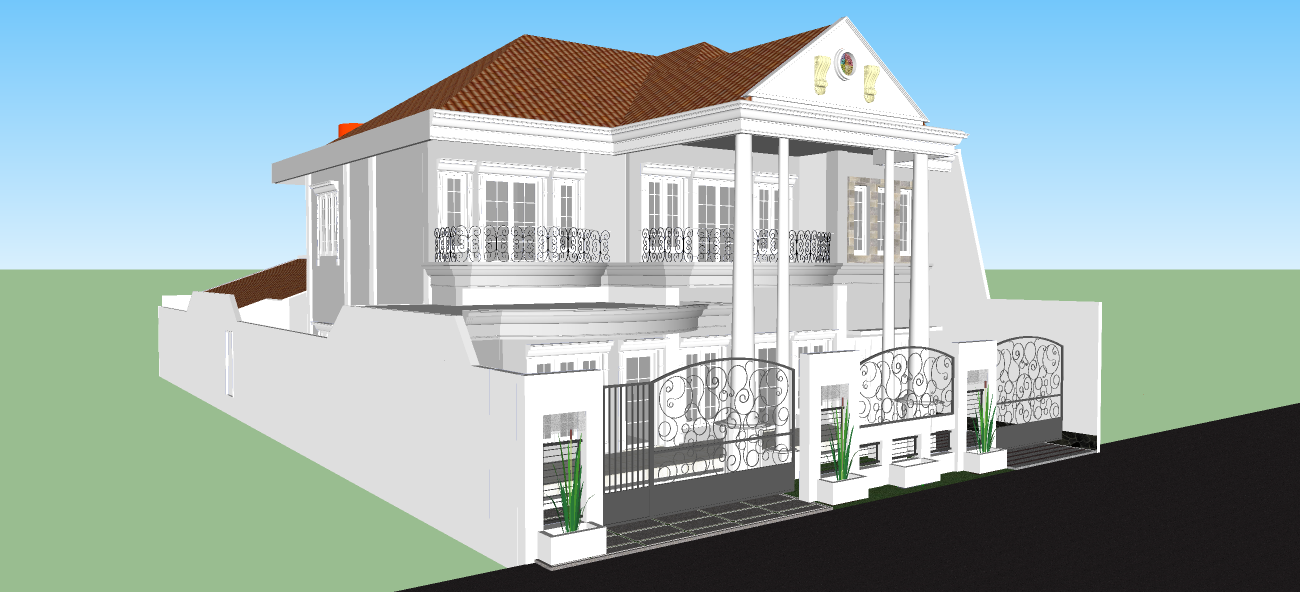 desain rumah mewah minimalis modern terbaik desain rumah