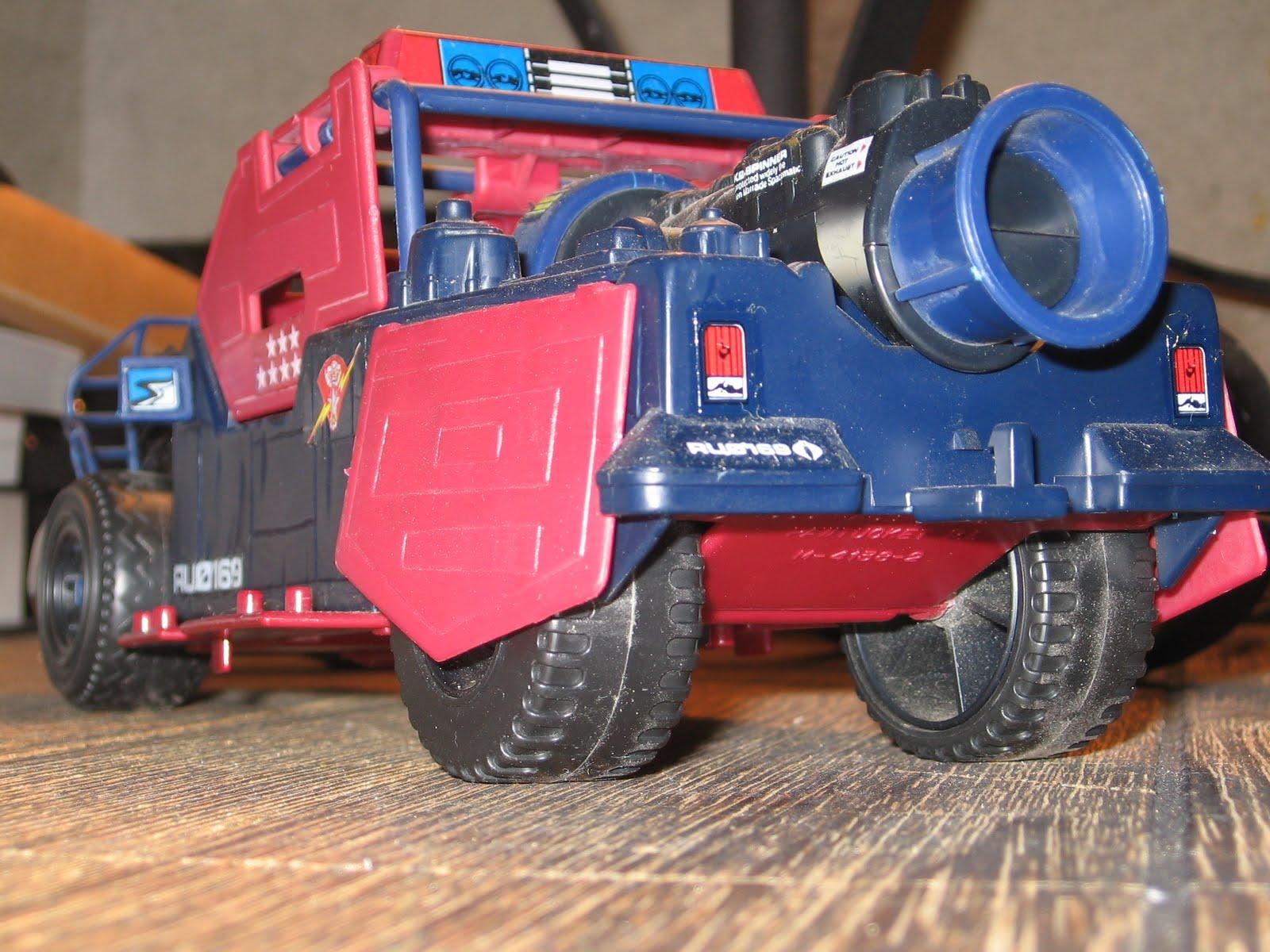 Joe Cobra Dreadnok Thunder Machine Rubber Rear Tire 1986 G.I