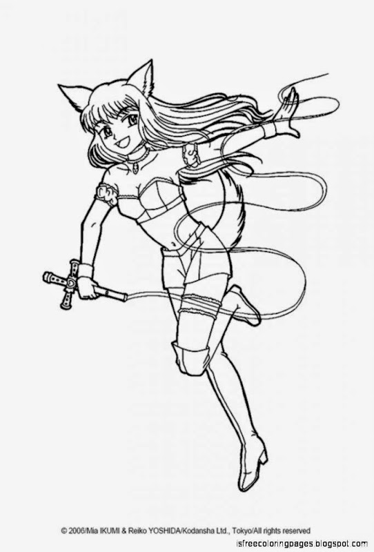 Mew mew power coloring pages free coloring pages for Mew coloring pages