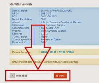 Format Data Siswa Terbaru 2014