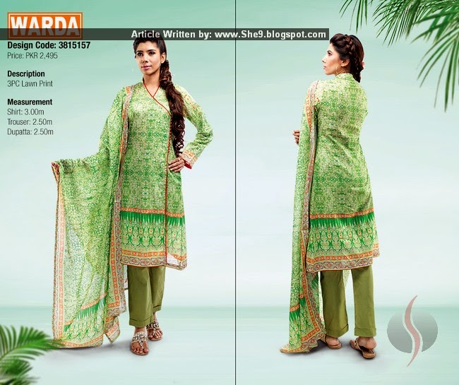 Lawn Collection 2015 with Princes
