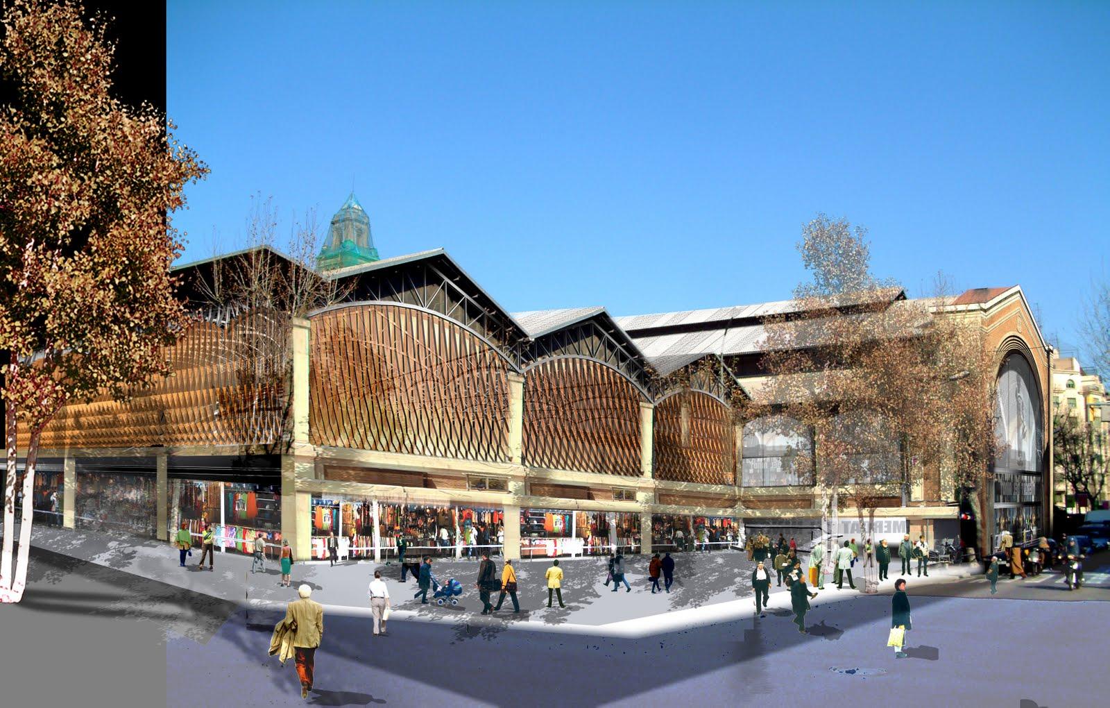 Remodelaci n del mercado de ninot de mateo arquitectura for Blog arquitectura y diseno
