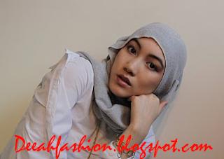 Tips Jilbab Untuk Wajah Segitiga Berlian