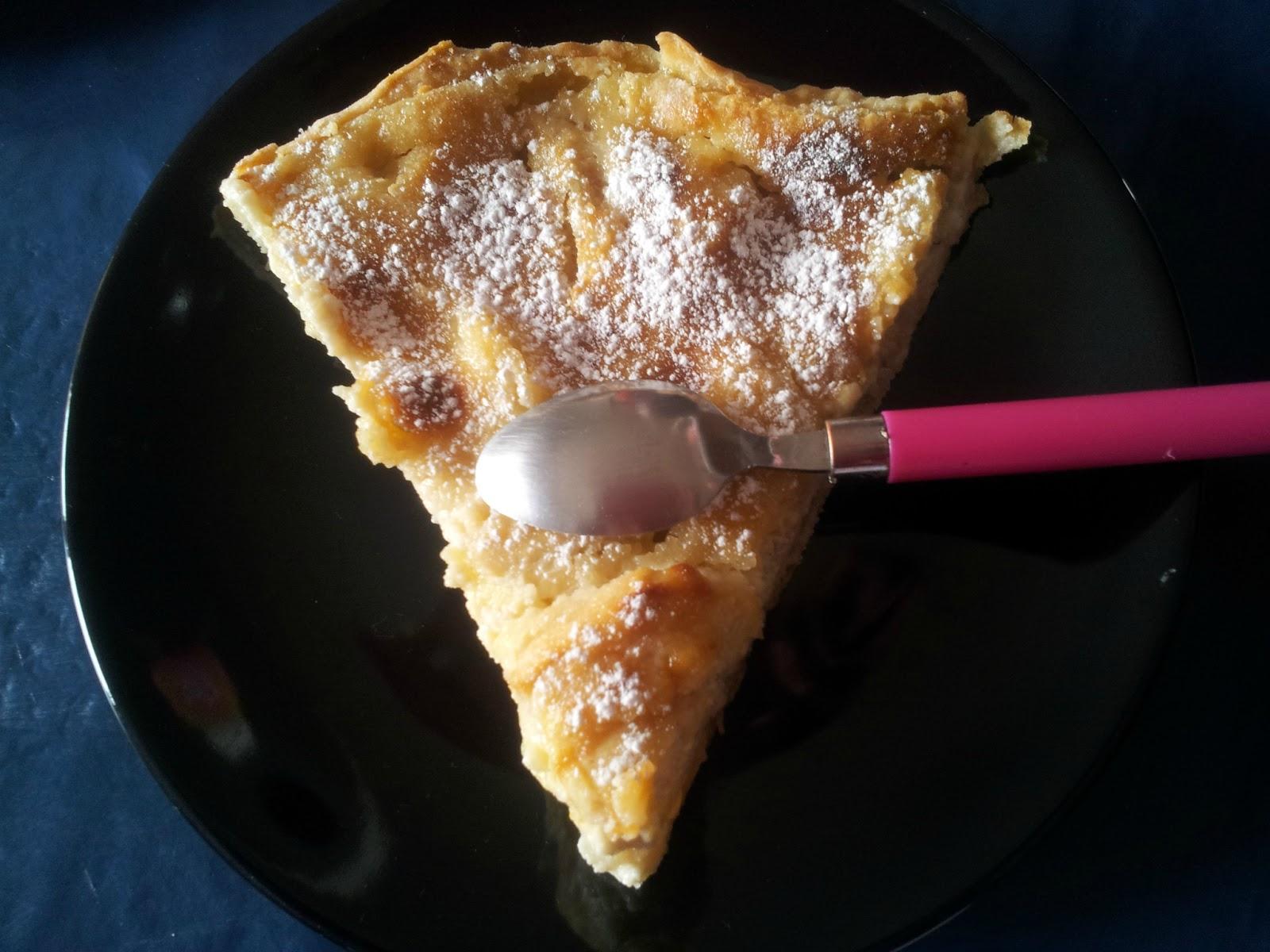 La cuisine de mimi tarte aux pommes et aux poires sans oeuf - Tarte poire chocolat sans oeuf ...