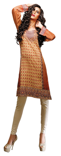 Hang Ten Girls Kurts with Digital Prints for Eid