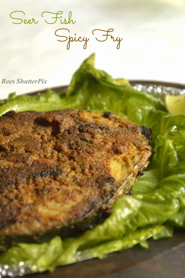 vanjaram meen varuval, seer fish fry recipe, spicy meen varuval, easy fish fry, fish fry recipe