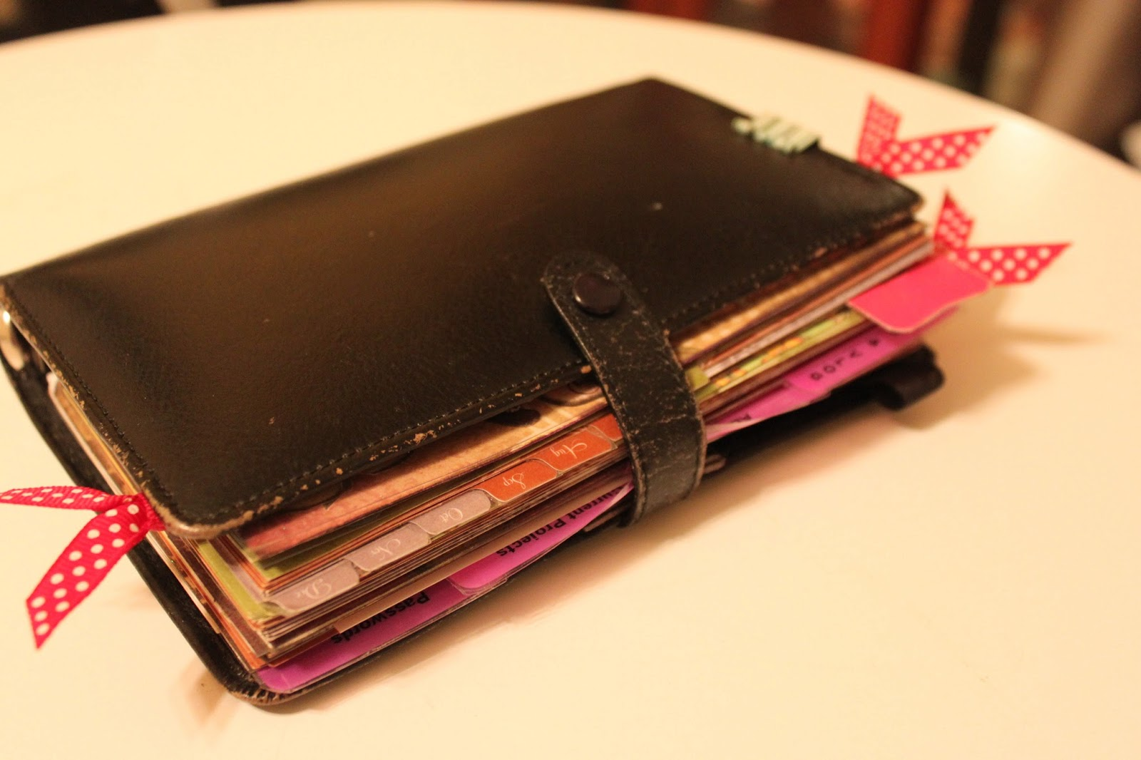 My Great Challenge: Filofax Personal Size - How I decorate ...