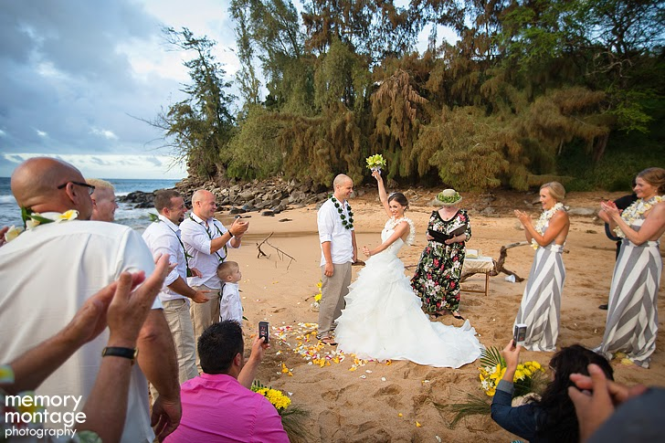 Maui wedding photo kaanapali beach
