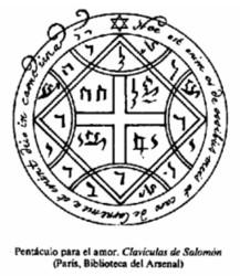 Dama oscura claves de salom n la llave menor de salom n for Conjuros de salomon