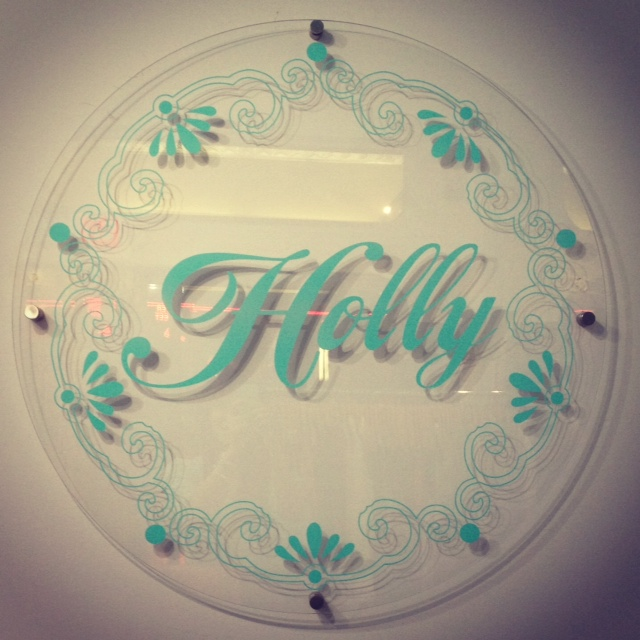 Holly boutique logo, holly logo
