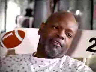 "Emmitt Smith ""Just For Men""  commercial grey hair"