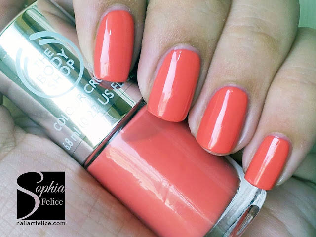 colour crush nails 330 rosy cheeks