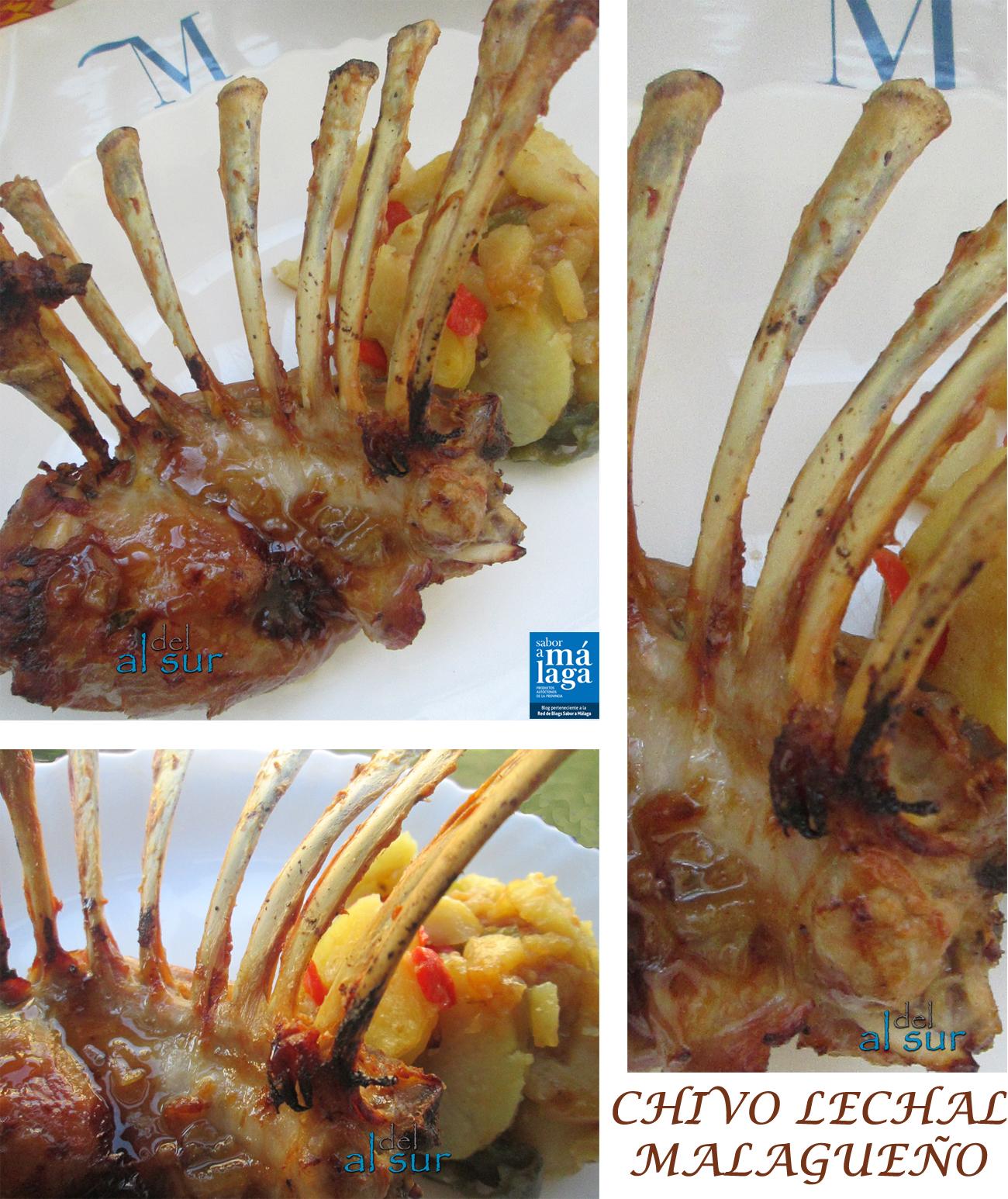 La cocina malague a alsurdelsur costillar de chivo lechal for Como cocinar carne de chivo