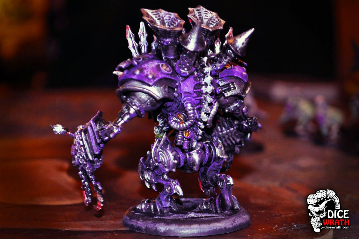 Deathjack Back - Purple
