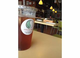 Iced Tea at Infusion Tea College Park Orlando