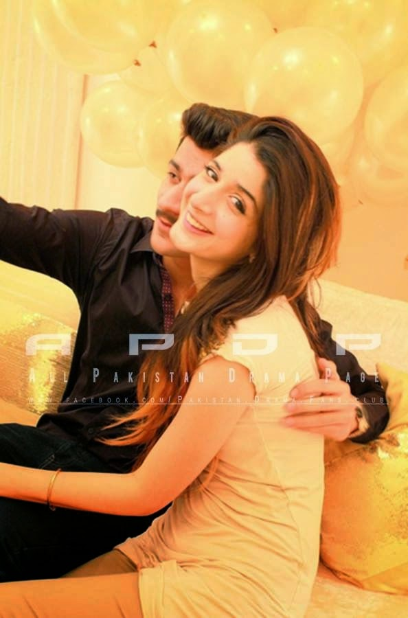 Mawra Hussain with her Fiance [Unseen Pictures] - Pak Tribune