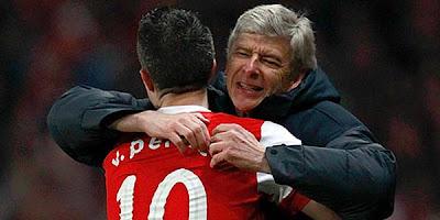 Robin van Persie - Pemain Terbaik Liga Inggris 2012