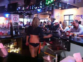 BBQ Barbecue Barbeque Bar-B-Q Bar-B-Que Frisco DFW Texas Panties Bikini Breastaurant