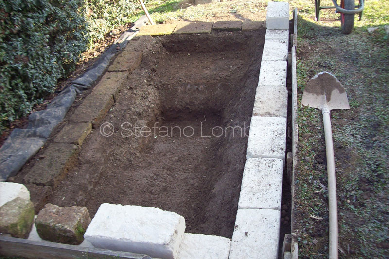 Piccolo giardino dei sogni nuova vasca 1200 lt for Vasca giardino