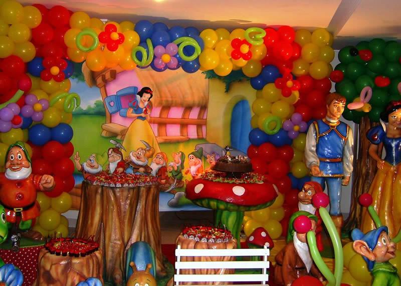 Fiesta Temática de Blanca Nieves - Snow White   Arcos con Globos ...