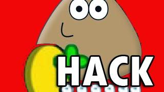 Pou hack atualizado com jogo pou hoops e com moedas infinitas