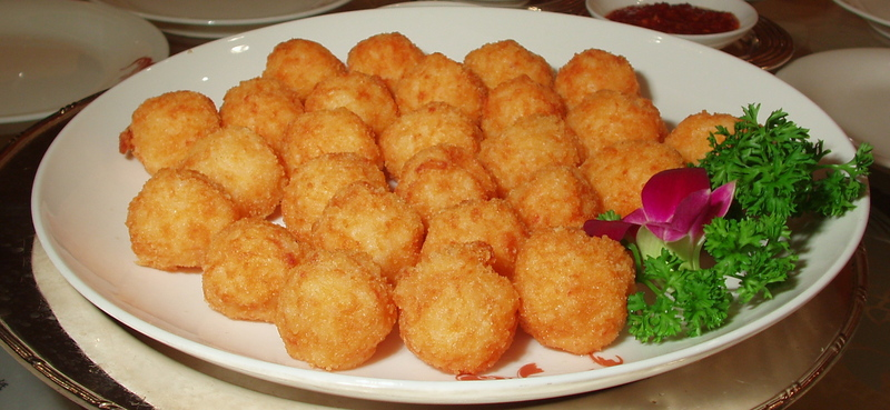Serve And Enjoy This Delicious Chinese Food Recipe Fried Shrimp Balls