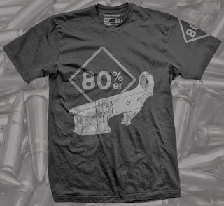 80% er firearm shirt