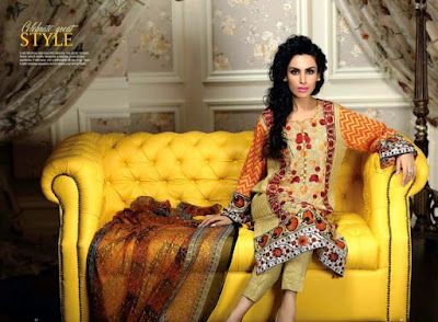 Ayesha Chottani Eid Ul Fitr 2015 Collection By Shariq Textile | Summer Eid 2015 Dresses