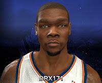 NBA 2K14 Kevin Durant Cyberface Mod