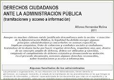 Derechos ciudadanos ante la Administración Pública.