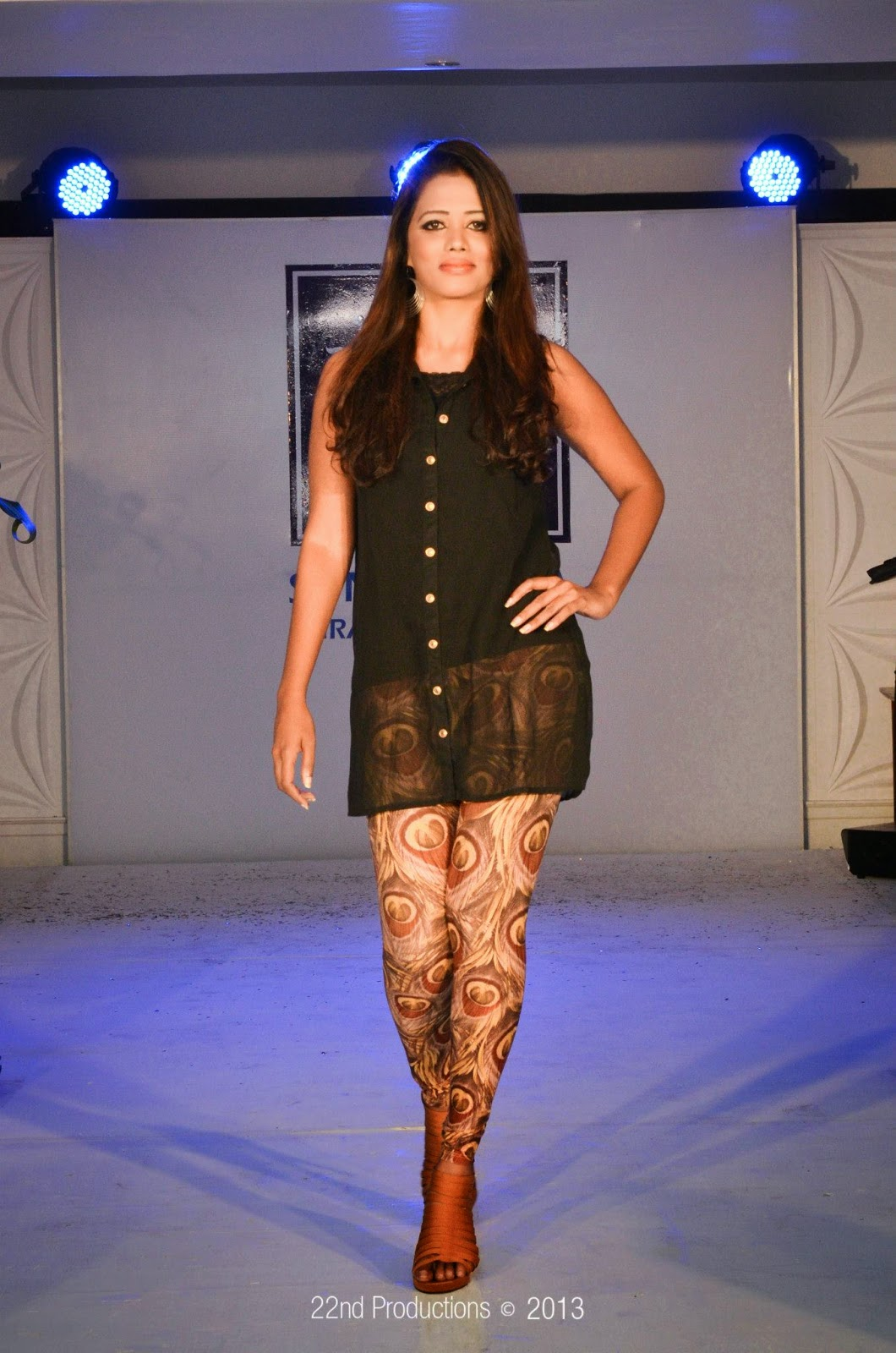 chandi anupama on ramp