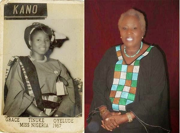 First Ever Miss Nigeria Then and Now Photos