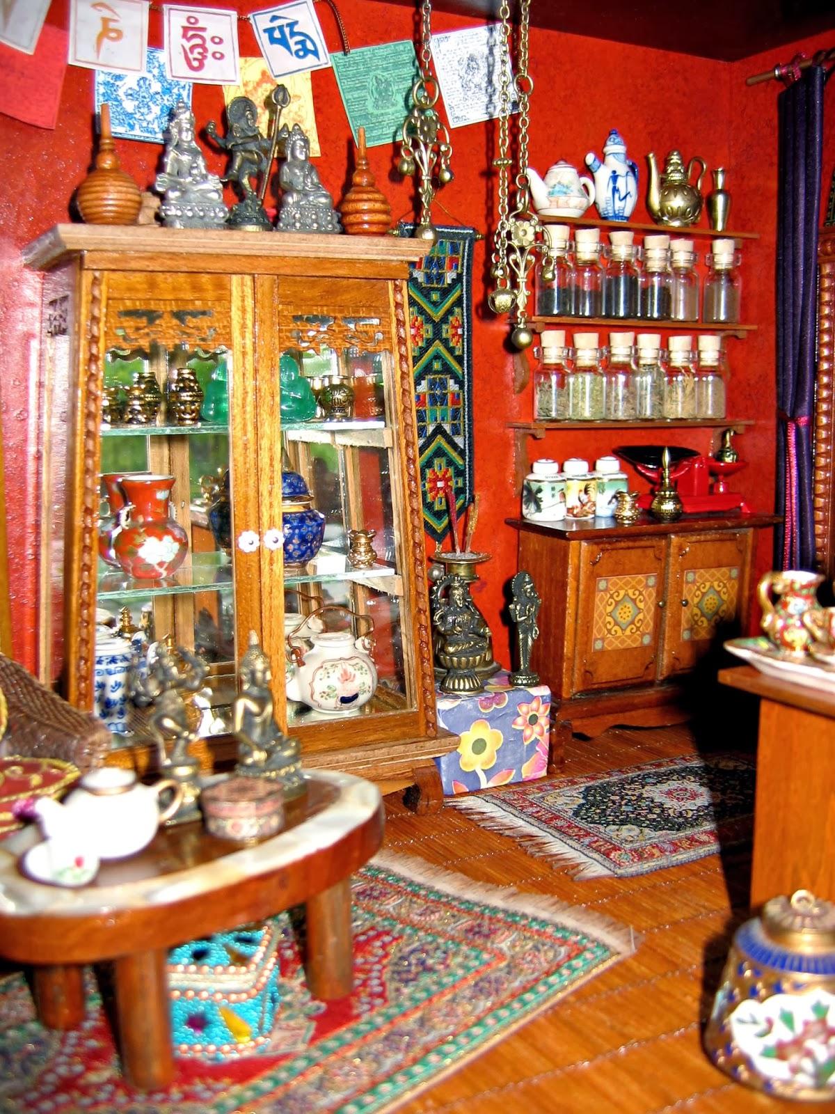 dollhouse tea shop