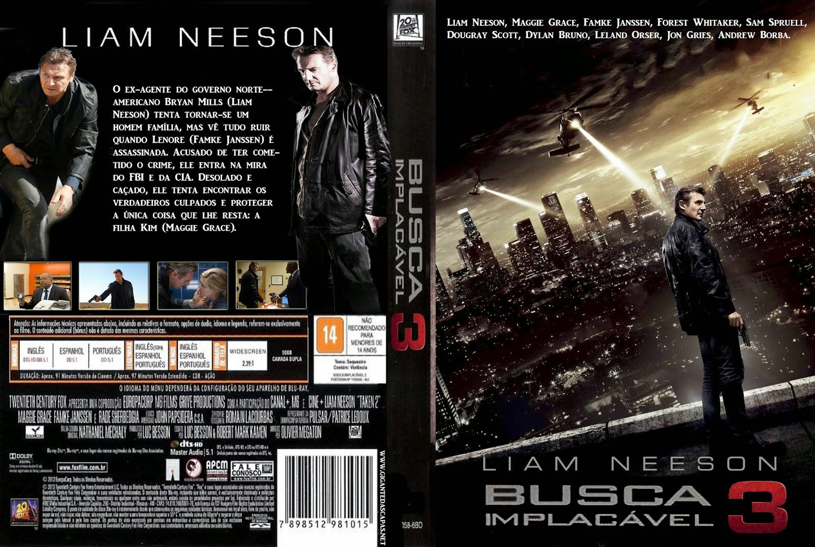 Download Busca Implacável 3 DVD-R Autorado Busca 2BImplac C3 A1vel 2B3