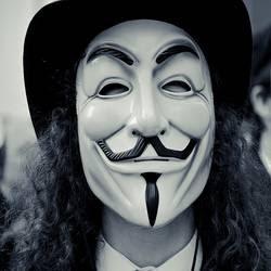 Grupo hacker Anonymous.