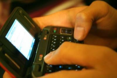 Inilah Negara terbanyak mengirimkan SMS